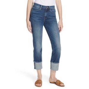 FRAME Le High Big Cuff Leg Park City Jeans size 24
